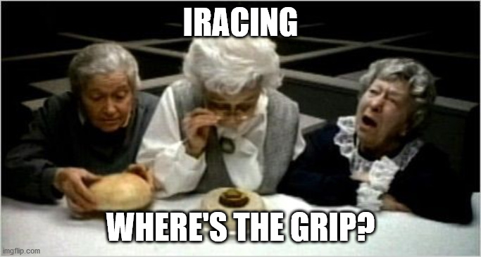 The Problem with iRacing: Where's the grip?